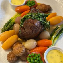 Chateaubriand—ideal for small private dinner parties
