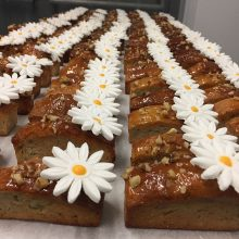 Mini carrot cake loave perfect for finger food
