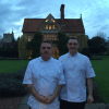 Our annual Stagiaire at Le Manoir aux Quat'Saisons