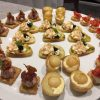 Dinner party canapes for 8