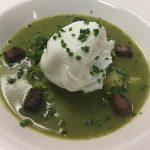 cream of wild garlic and potato soup